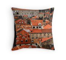 Flat Out Dubrovnik Throw Pillow