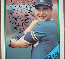 103 - Bill Wilkinson by Foob's Baseball Cards
