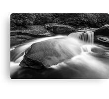 Falling Water on Granite Canvas Print