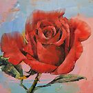 Rose Painting by Michael Creese