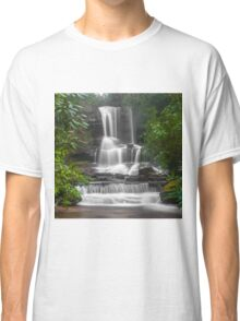 Waterfall Through the Trees Classic T-Shirt