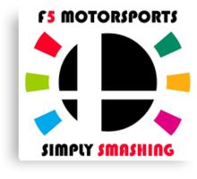 F5 Motorsports Canvas Print