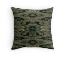 Abstracted Reflections Throw Pillow