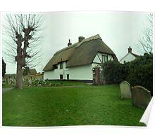 Thatched House, Haddenham Poster
