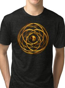 'Entwined Desires (Gold)' Tri-blend T-Shirt