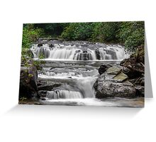 A Multitude of Waterfalls Greeting Card