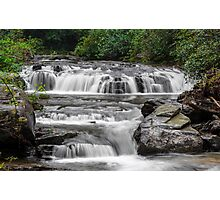 A Multitude of Waterfalls Photographic Print