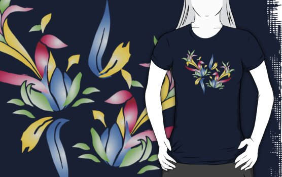 Floral T by tandoor