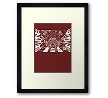 Lavos: First Form (WHITE)... Framed Print