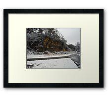 December Snow Framed Print