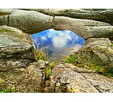Reflection Puddle Photographic Print