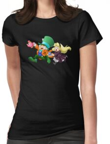 Tea Time Delight Womens Fitted T-Shirt