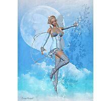Blue Fae Photographic Print