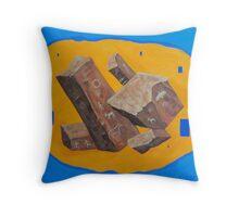 Monolithic Resonance Throw Pillow