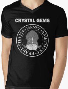 CRYSTAL GEMS Mens V-Neck T-Shirt