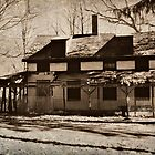 Abandoned Home in Daguerreotype by Jane Neill-Hancock