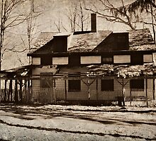 Abandoned Home in Daguerreotype by Jane Neill-Hancock