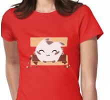 Kitty Smores Womens Fitted T-Shirt