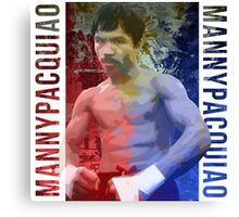 "Manny Pacquiao ""Pac-Man"" Canvas Print"