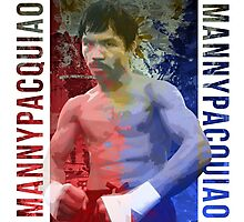 "Manny Pacquiao ""Pac-Man"" Photographic Print"