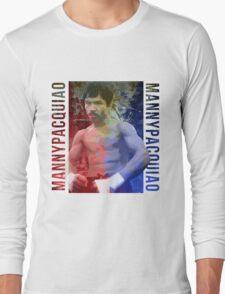 "Manny Pacquiao ""Pac-Man"" Long Sleeve T-Shirt"