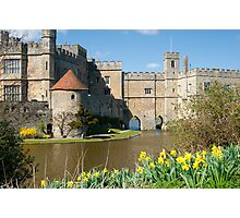 Leeds Castle Kent UK: Springtime Easter Photographic Print