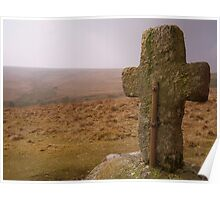 Dartmoor: Crosses Series - Horse Ford  Poster
