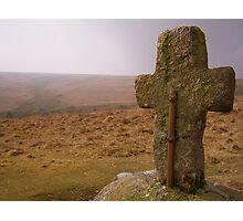 Dartmoor: Crosses Series - Horse Ford  Photographic Print