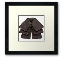 Rock Of Fashion Bowtie Series No1 Framed Print