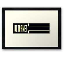 Ultranet Framed Print
