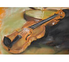 Little Violin Photographic Print