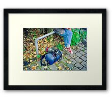 On Assignment - Equipment Framed Print