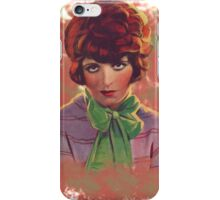 Clara Bow  iPhone Case/Skin