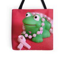 Breast Cancer Awareness Card Tote Bag