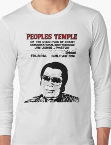 Jim Jones - Peoples Temple Long Sleeve T-Shirt