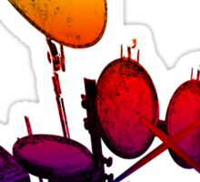 Electric Drum Sticker