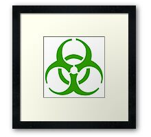 Infection Symbol Framed Print
