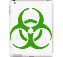 Infection Symbol iPad Case/Skin