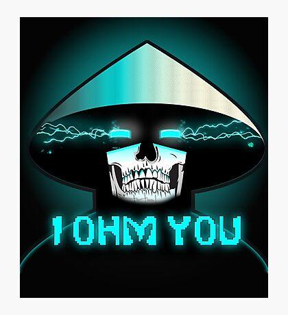 Mortal Kombat X Raiden: I OHM YOU. Photographic Print