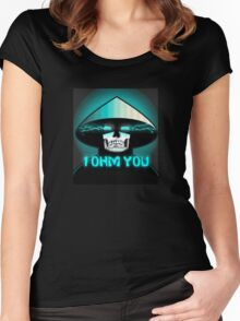 Mortal Kombat X Raiden: I OHM YOU. Women's Fitted Scoop T-Shirt