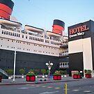 Queen Mary Hotel/Ship by Diane Trummer Sullivan