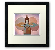 Shalako Dance Water God Framed Print