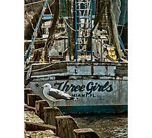 the Three Girls Photographic Print