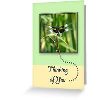 Dragonfly Thinking of You Greeting Card