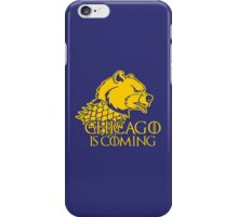 Chicago Is Coming iPhone Case/Skin
