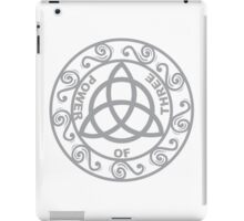 Ancient Power of 3 Symbol iPad Case/Skin