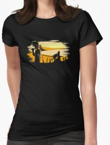 Soldier Champloo  Womens Fitted T-Shirt