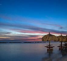 Beach umbrellas by Debora Horwitz