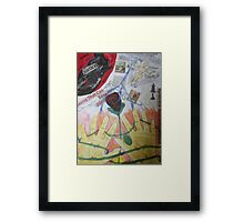 My Hands Are Tied Framed Print