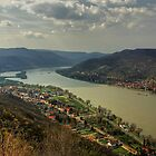 The Danube Bend by Béla Török
